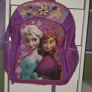 Ana and elsa girls backpack